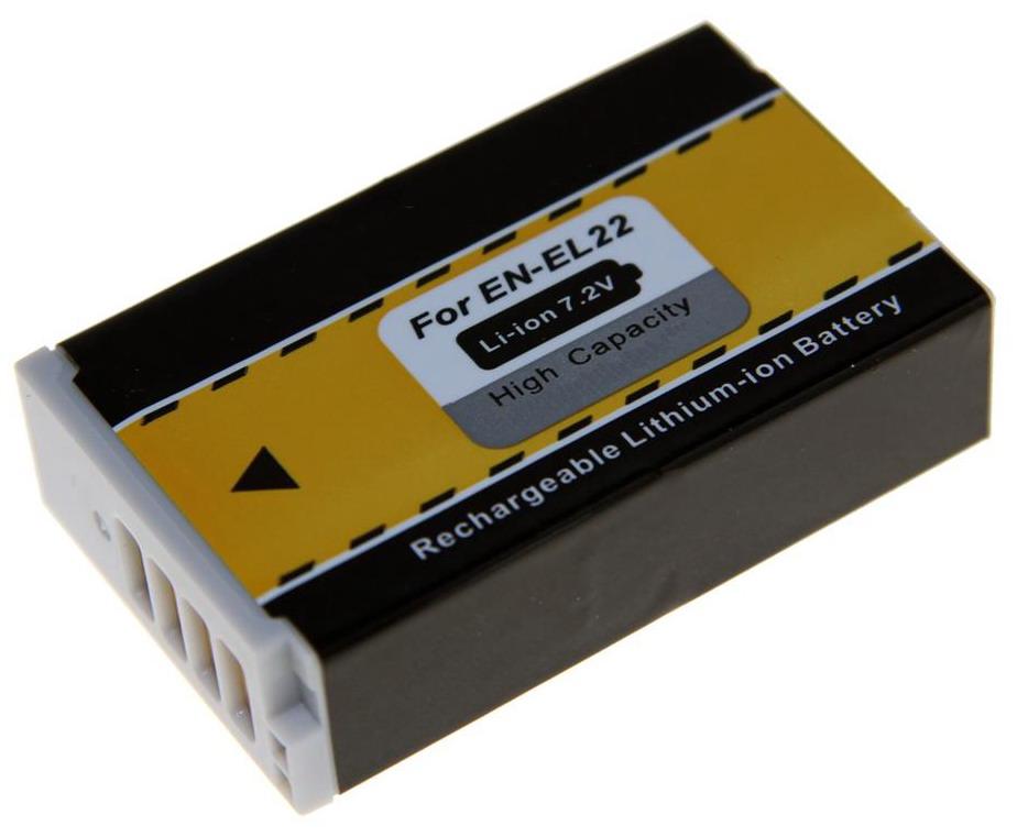 Kamerabatteri EN-EL22 till Nikon kamera