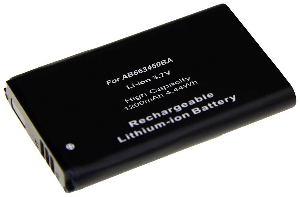Bild av Batteri AB663450BA / AB663450BABSTD till Samsung