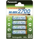 4 st Panasonic AA-batterier - speciellt för blixtar
