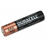 4 st AAA Duracell alkaliska batterier