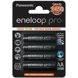 4 st AA Panasonic Eneloop Pro batterier - 2500mAh