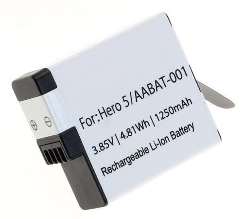 Kamerabatteri AABAT-001 till GoPro Hero5, Hero6, Hero7, Hero8