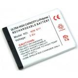 Batteri till bl.a. Nokia 6111, 7500, 2760, N76 (BL-4B)