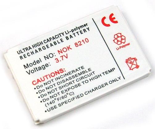 Batteri till bl.a. Nokia 5210, 6510, 8210, 8910 (BLB-2)