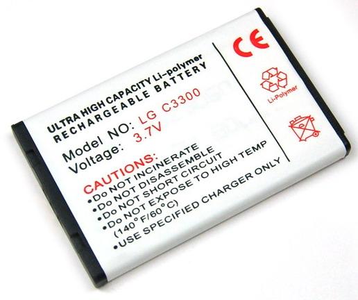 Batteri till LG C3100 och C3300