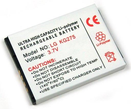 Batteri till LG KF510 och KG275
