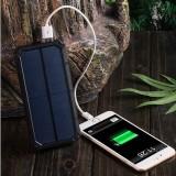 Powerbank externt batteri - Extra Power - Solar - 20.000mAh