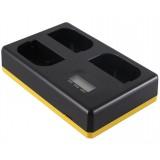 Trippelladdare Canon LP-E6 / LP-E6N / LP-E6NH - Laddar 3 batterier, även samtidigt