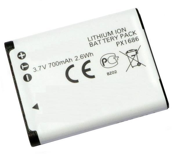 Kamerabatteri PX1686 till Toshiba video kamera
